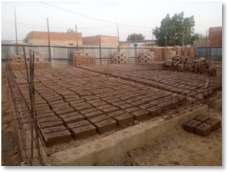 New chapel construction in N'Djamena (Chad)