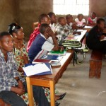 Class time @ Congo Bible Camp 2011